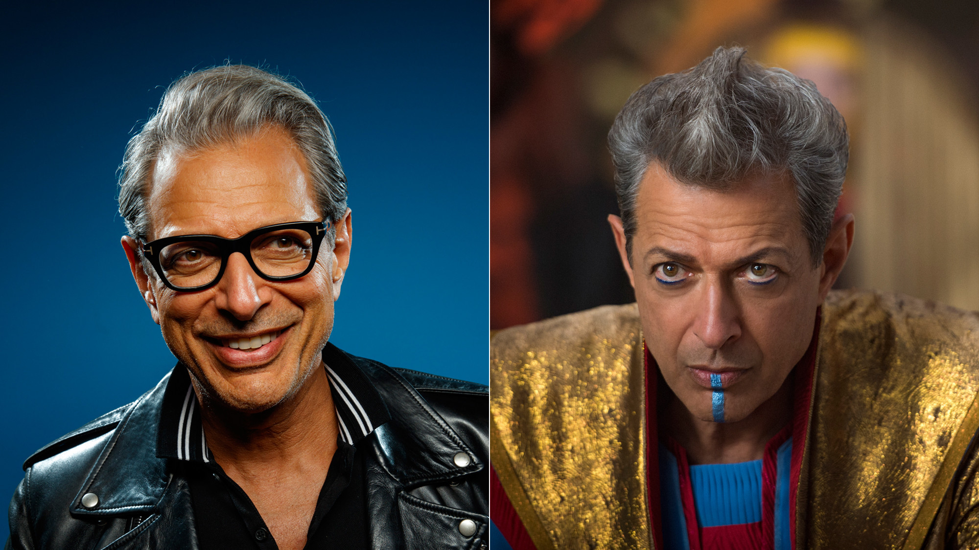 "Jeff Goldblum plays Grandmaster in ""Thor: Ragnarok."""