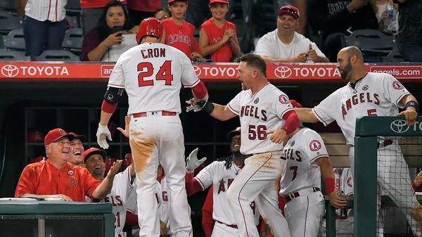 C.J. Cron homers twice in Angels
