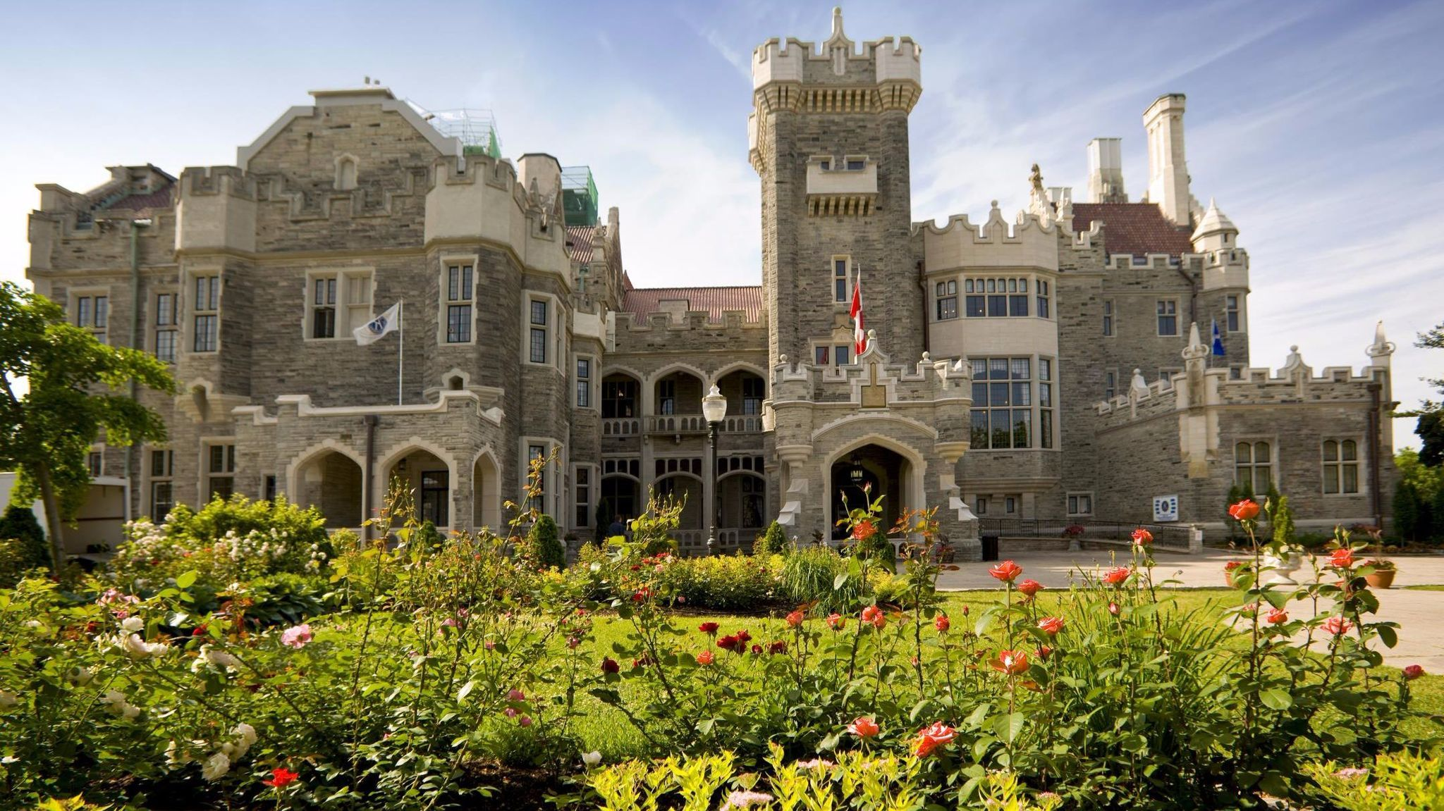 Hop over to Toronto, Canada, and stop at Casa Loma, one of the city's greatest historical monuments.