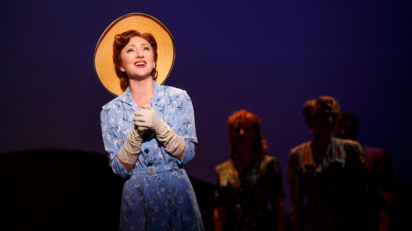 "Carmen Cusack in the musical ""Bright Star,"" coming to the Ahmanson in October."