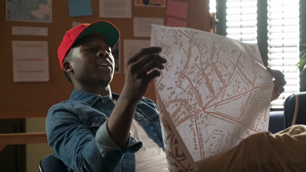 "Brandon Micheal Hall in ABC's ""The Mayor, "" premiering Oct. 3."