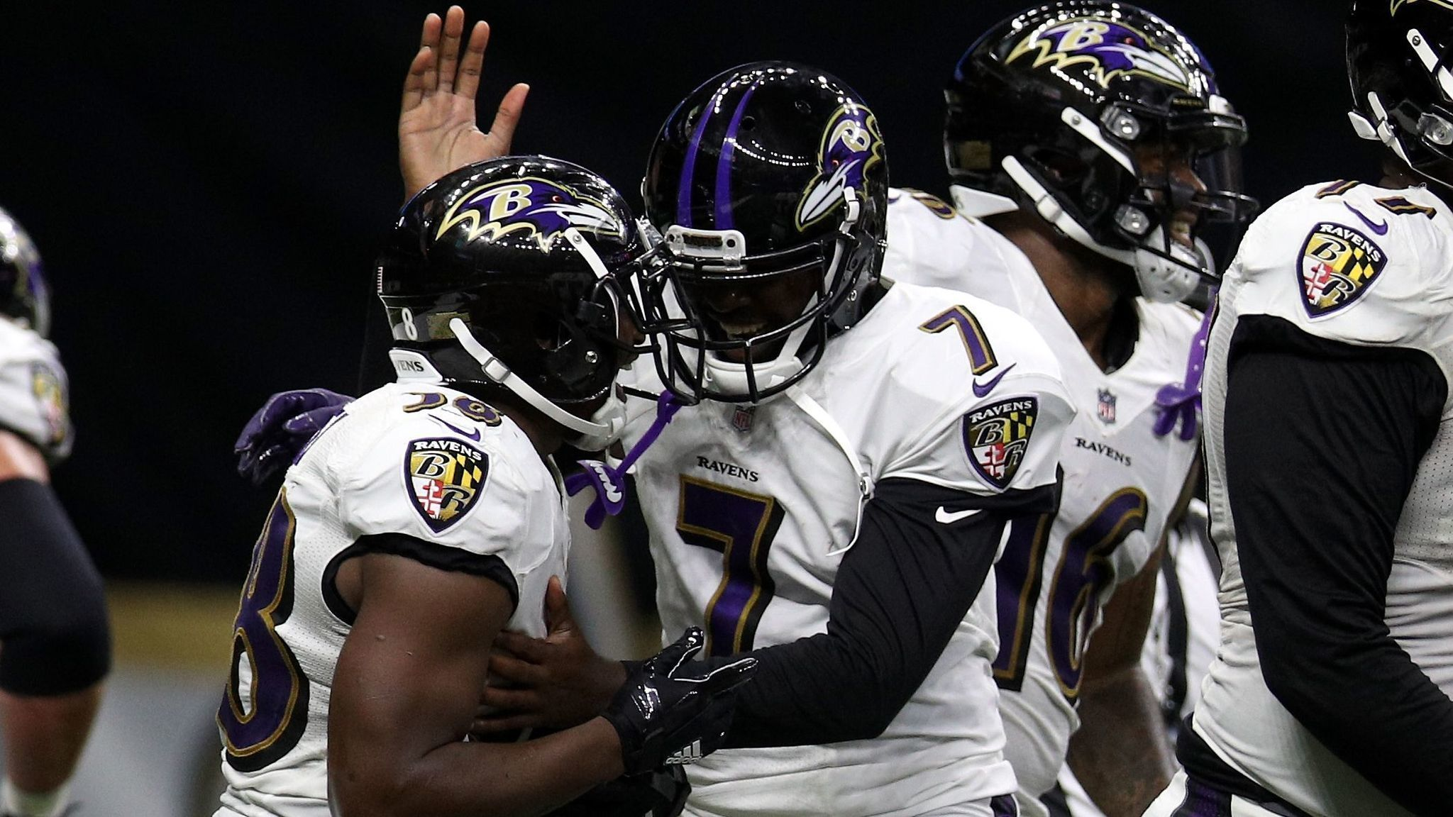 Ravens finish preseason 4 0 with 14 13 win over saints as for Mercedes benz of owings mills staff