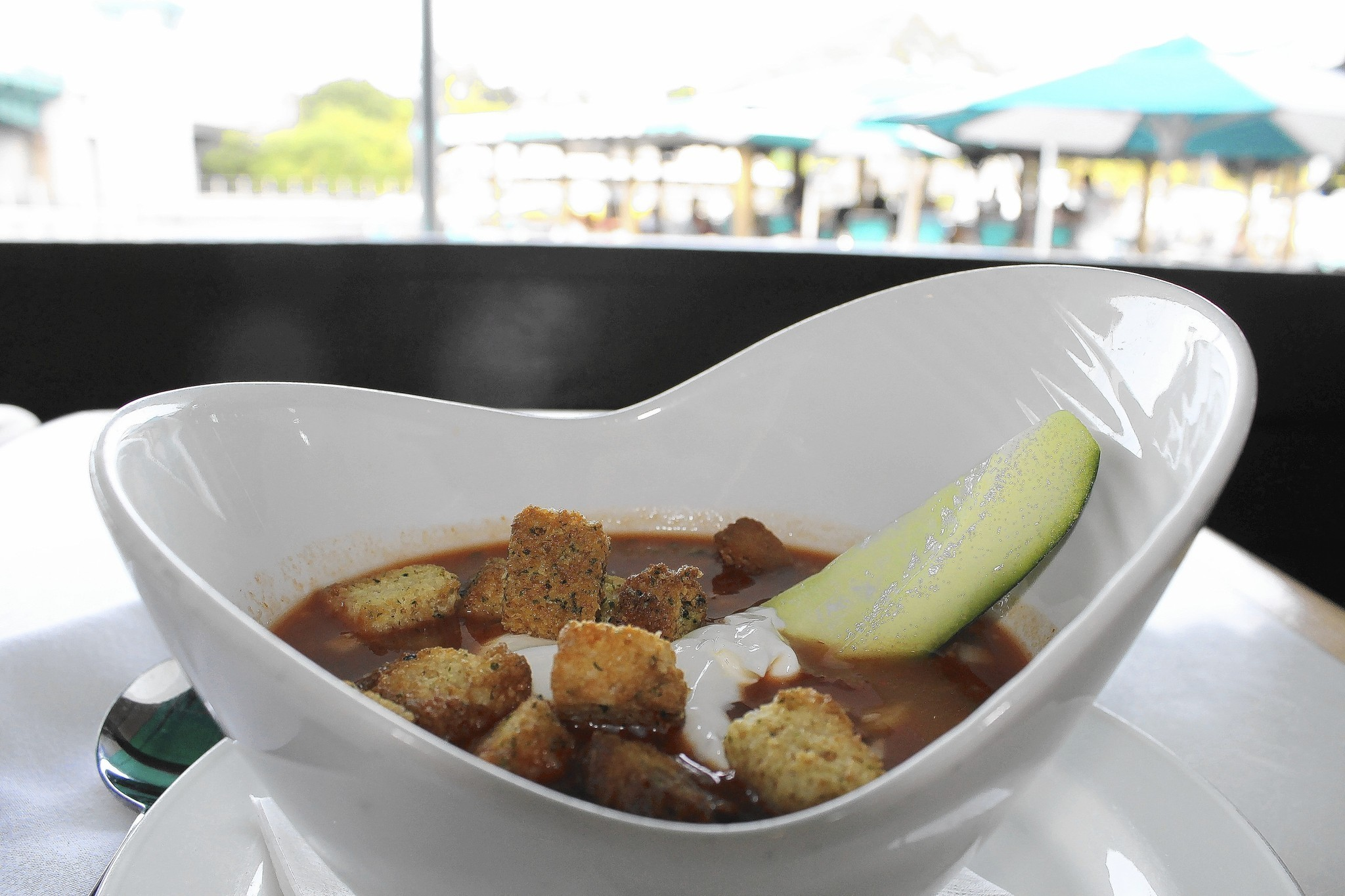Waterway Cafe 39 S Gazpacho A Light Summer Soup Sun Sentinel