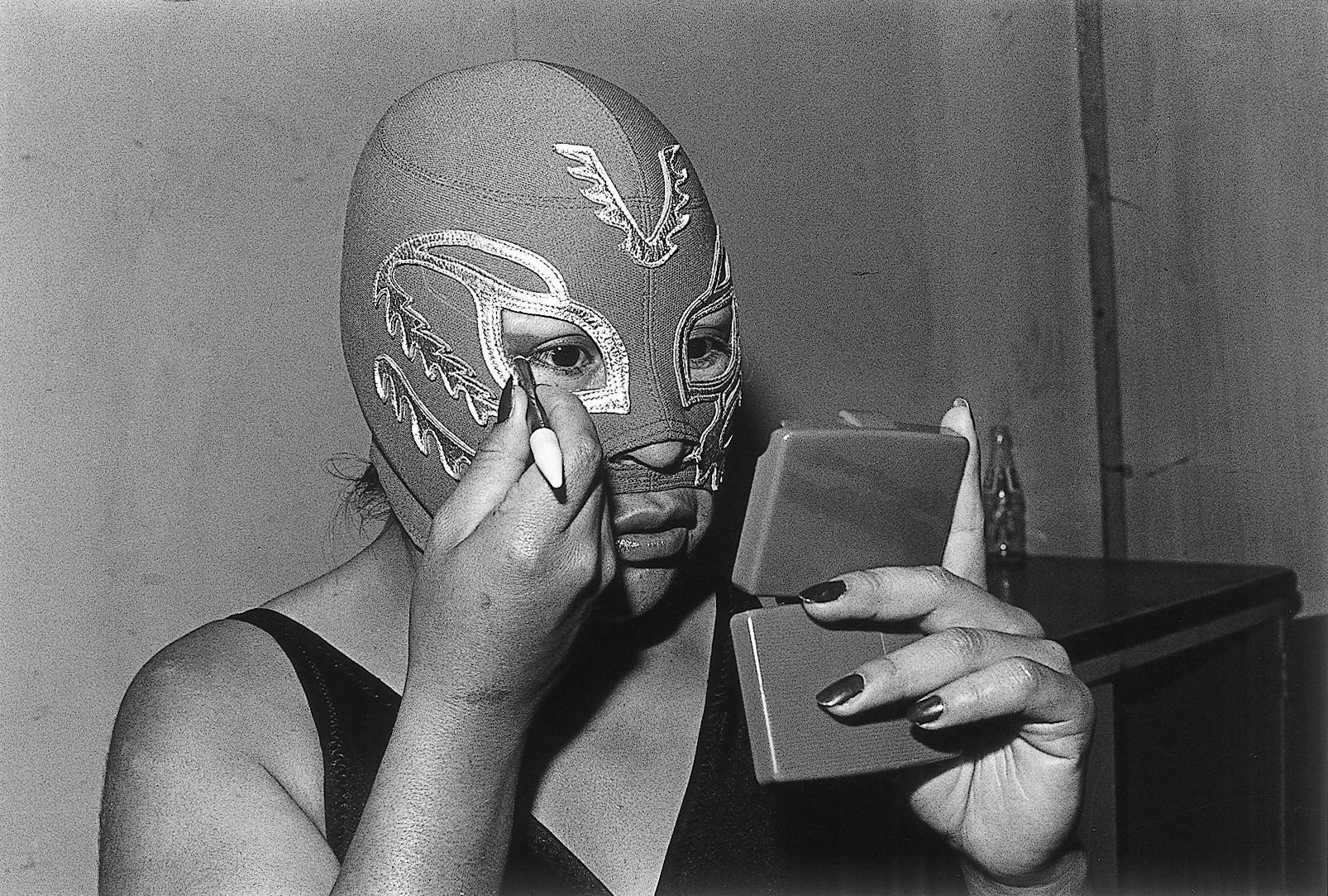 """La Venus,"" 1981-82, by Lourdes Grobet, from the series ""La Doble Lucha."""