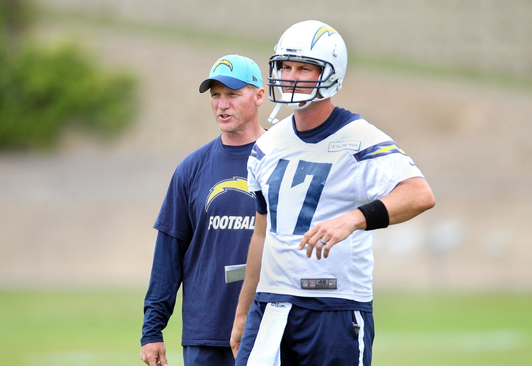 For Philip Rivers going with the flow es easy LA Times