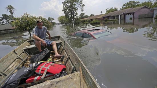 Hurricane Harvey hits Texas coast