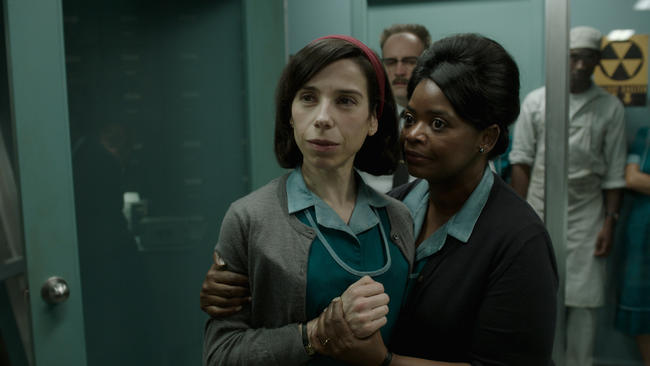 "Sally Hawkins and Octavia Spencer star in Guillermo del Toro's ""The Shape of Water."" (Fox Searchlight Pictures)"