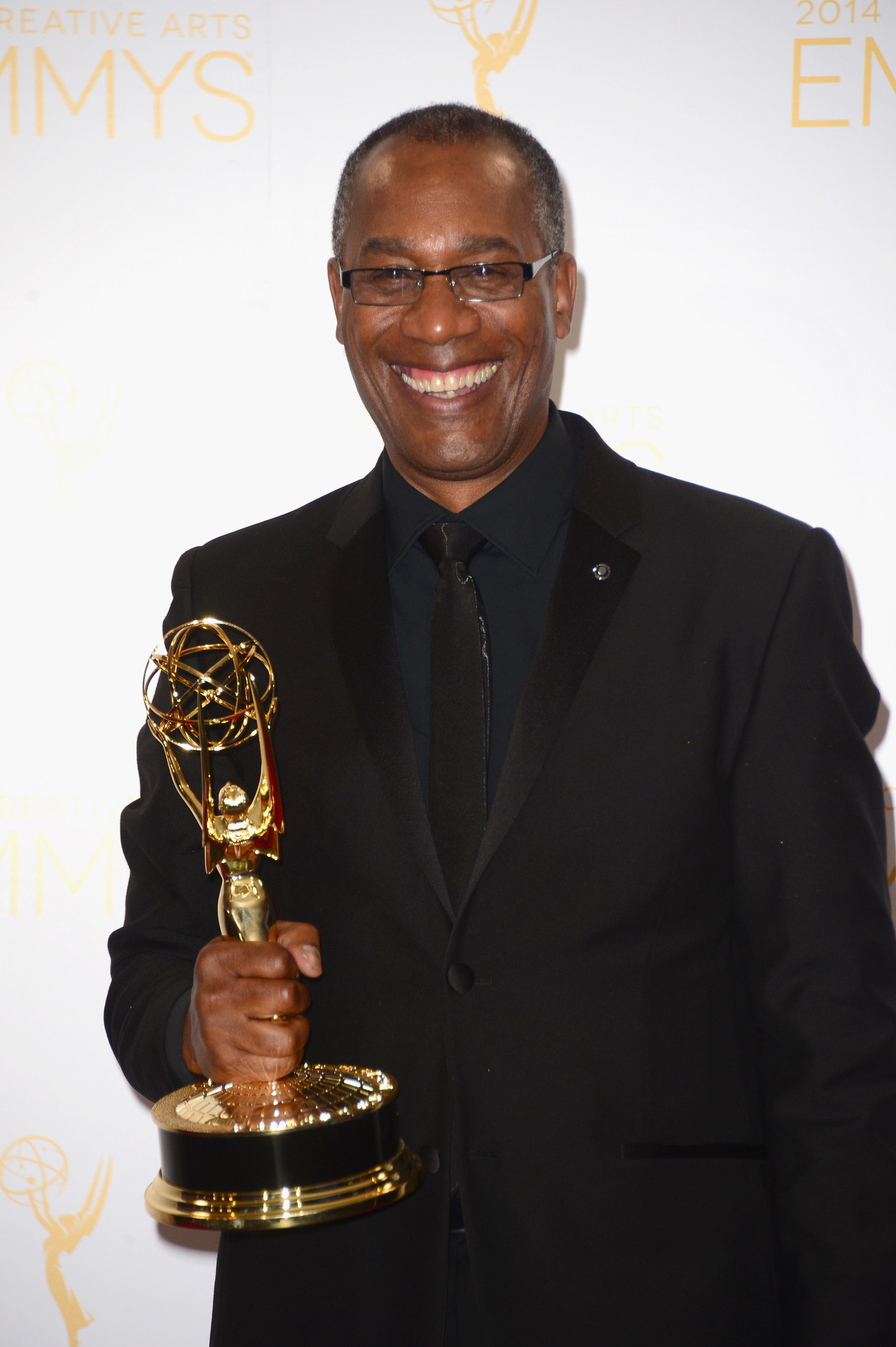 """Joe Morton, Rowan """"Papa"""" Pope on """"Scandal,"""" after winning a 2014 Emmy for guest actor in a drama series."""