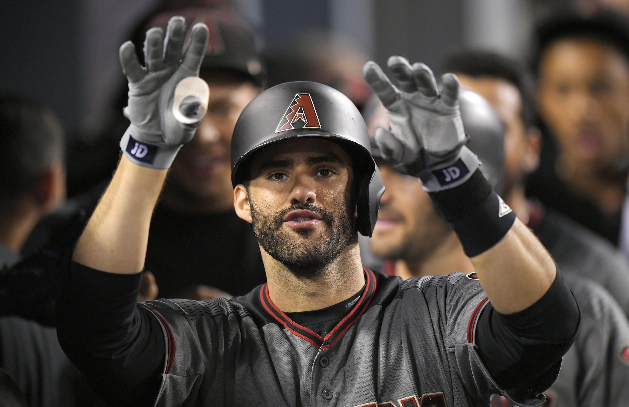 Diamondbacks' J.D. Martinez hits 4 home runs, ties MLB record - Orlando Sentinel