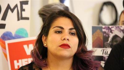 """Astrid Silva, de una balsa de neumáticos a rostro de los """"soñadores"""""""