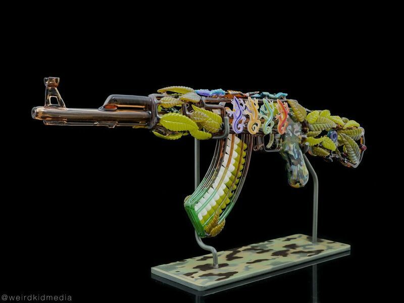 """Mother Nature's Rifle,"" by Robert Mickelsen and Calvin Mickle."