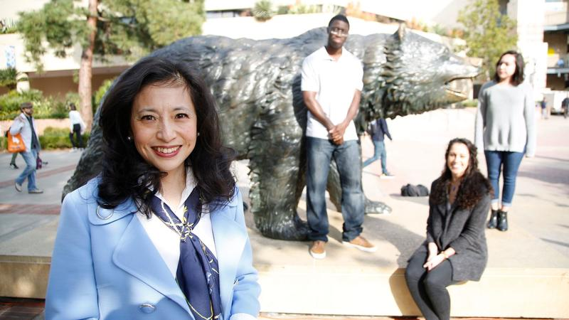 UCLA Foundation President Shirley Wang recently donated $1 millio