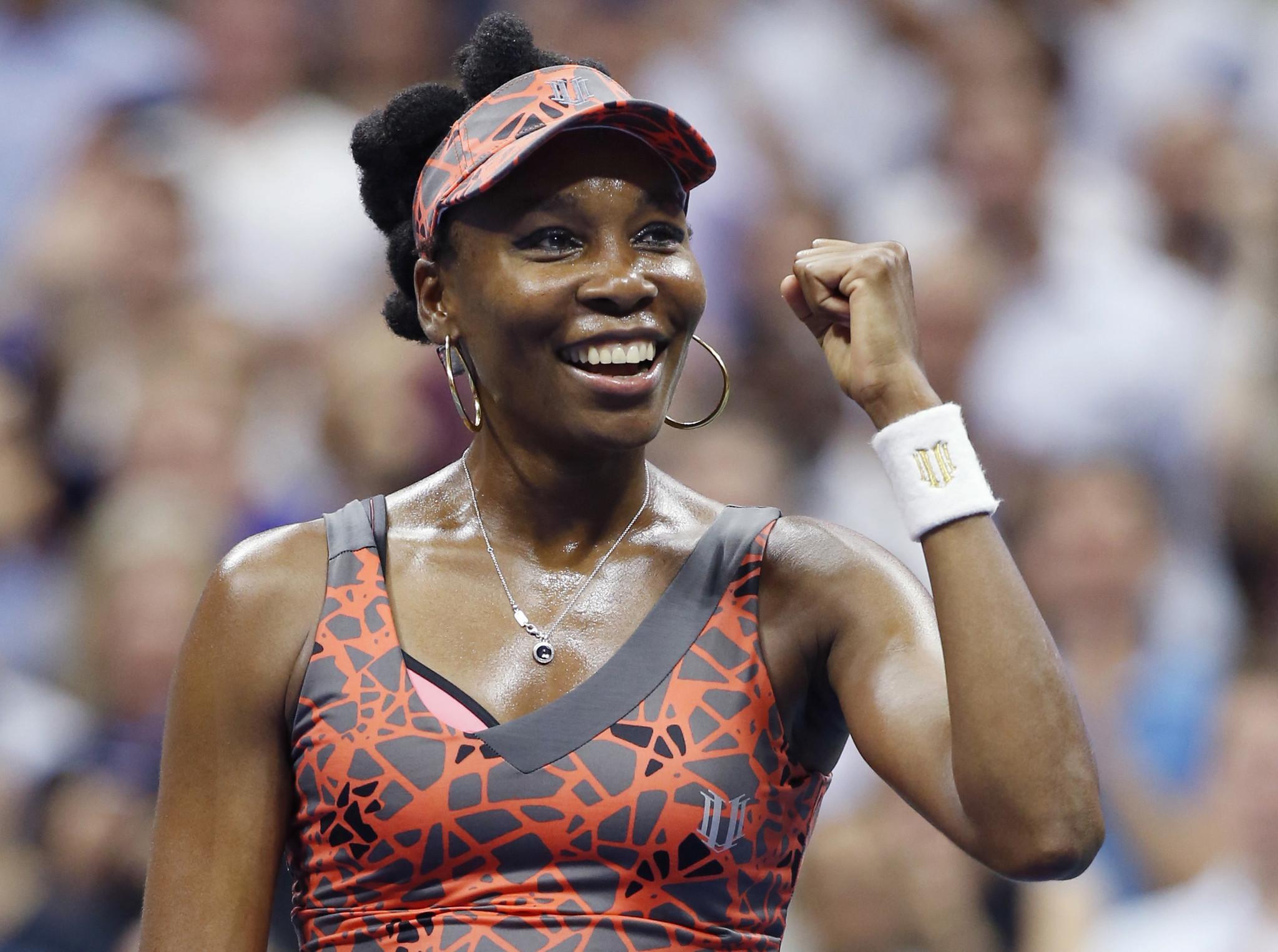 Venus Williams edges Petra Kvitova for 1st U S Open semifinal
