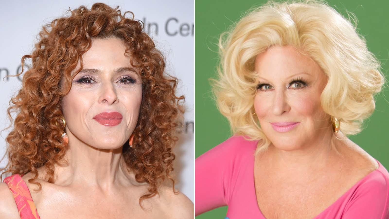 "Bernadette Peters, left, will replace Bette Midler in ""Hello, Dolly!"" next year. (Michael Loccisano / Getty Images, left; Julia Kennedy, right)"