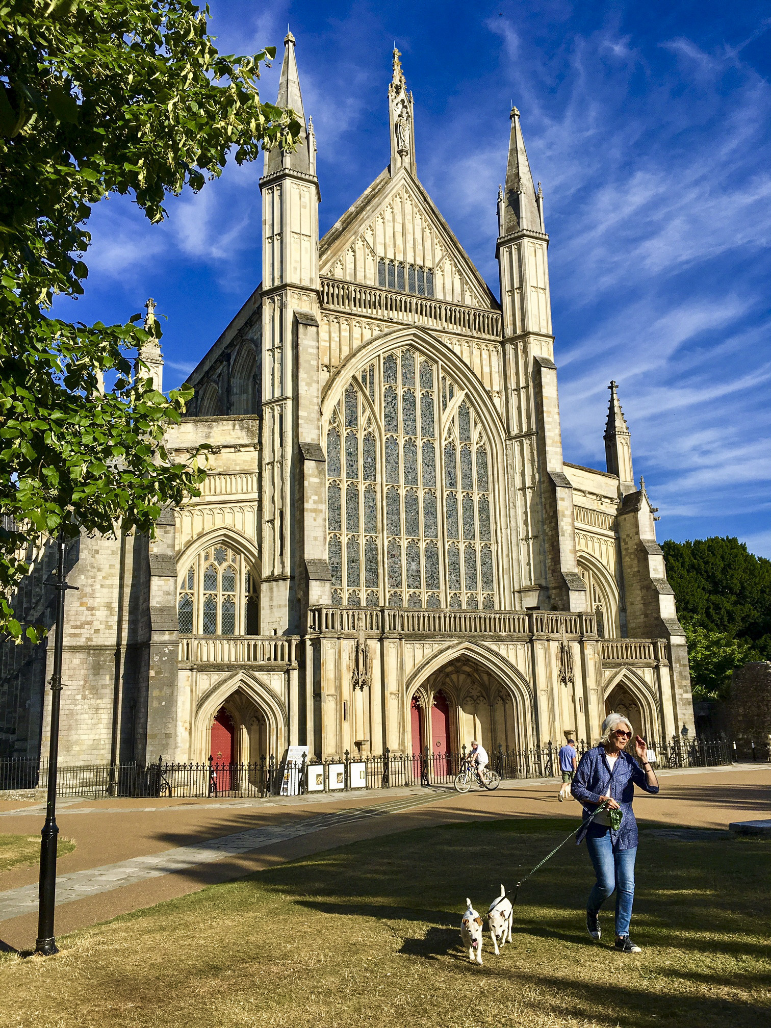 Winchester Cathedral: Jane Austen is entombed here with some of the nation's greatest heroes.