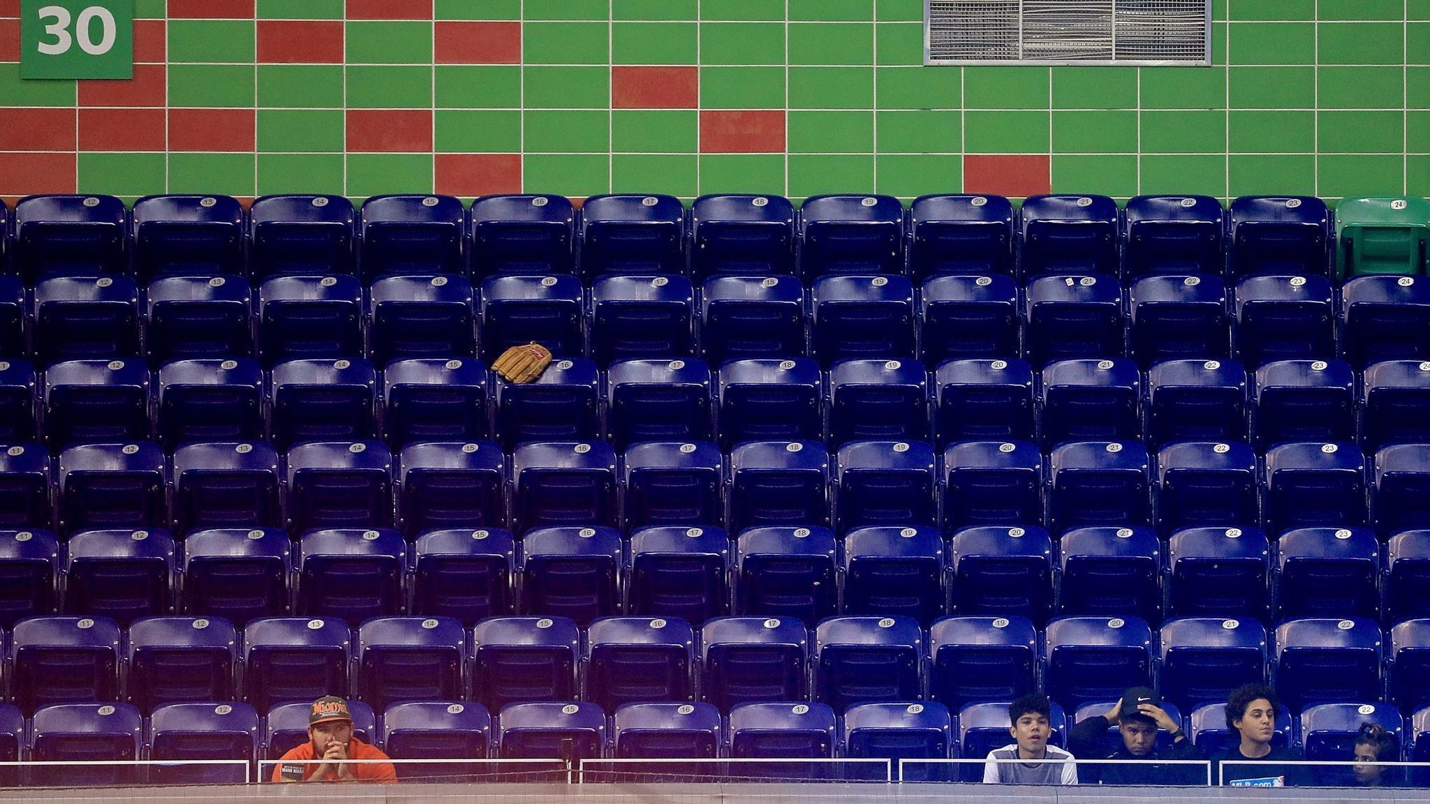 Miami Swept By Nationals In Nearly Empty Marlins Park As Hurricane Irma Approaches
