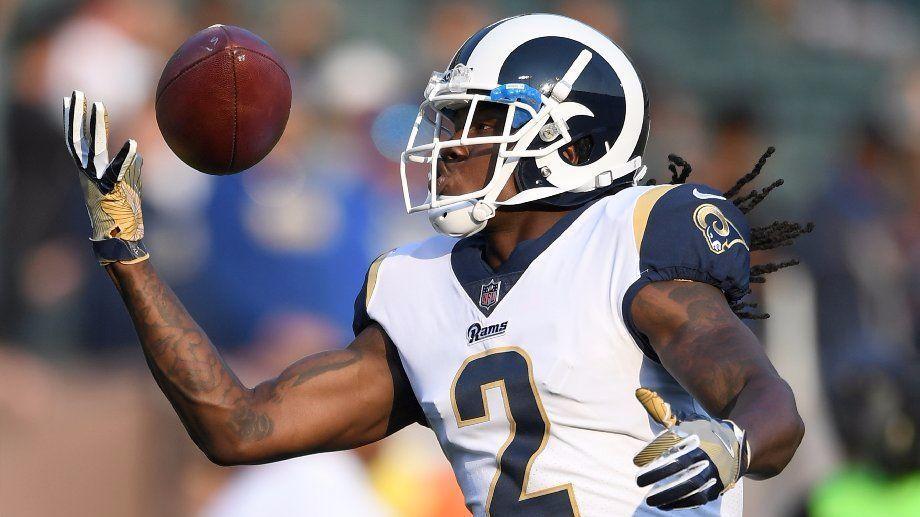 Rams receiver Sammy Watkins and running back Justin Davis ...