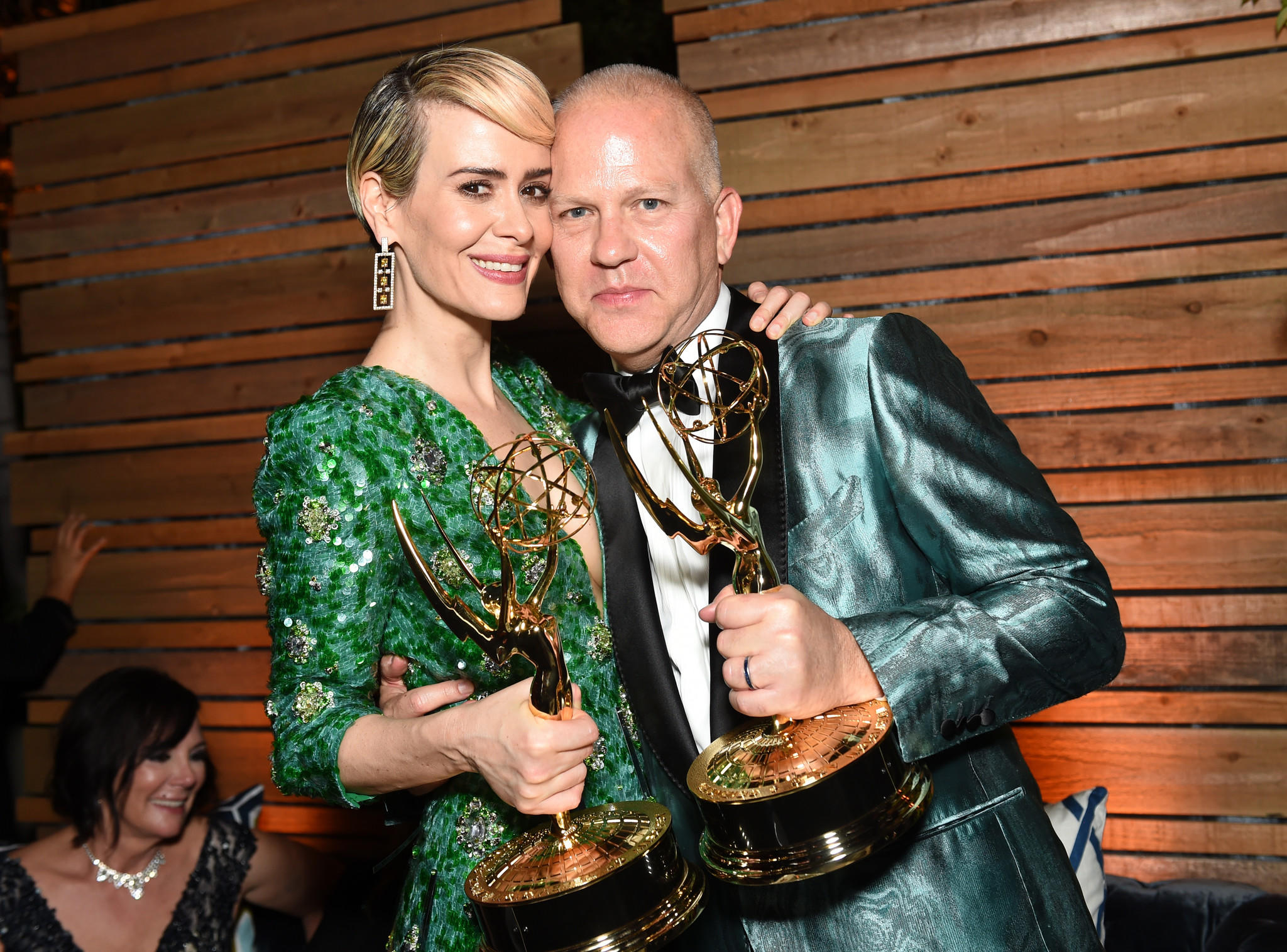 Sarah Paulson and Ryan Murphy (Emma McIntyre / Getty Images)