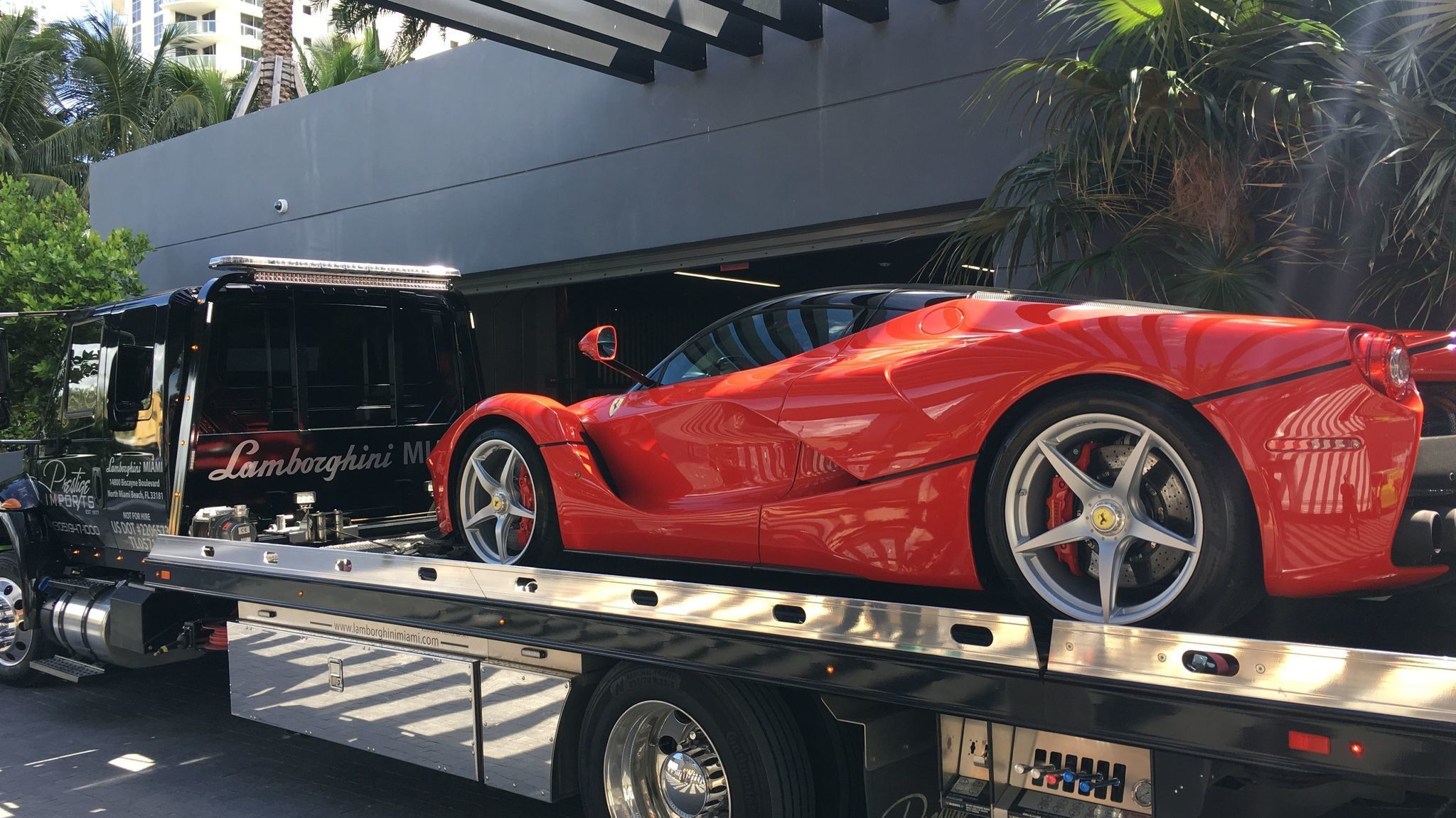 Where do you store a $15M sports car during Hurricane Irma ...