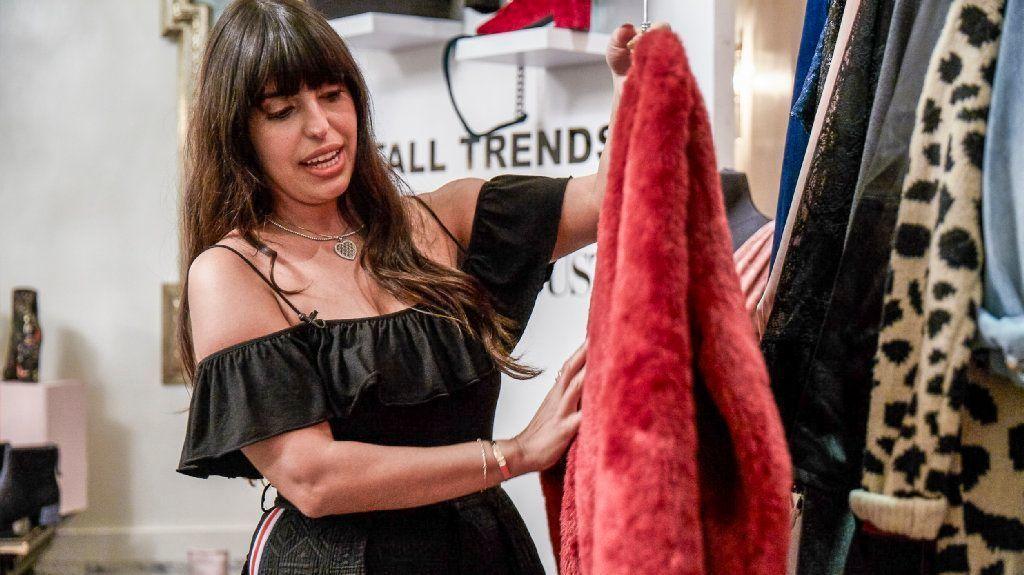 Wardrobe stylist Natalie Saidi's clients include Vanessa Hudgens, Ashlee Simpson and Veronica Dunne.