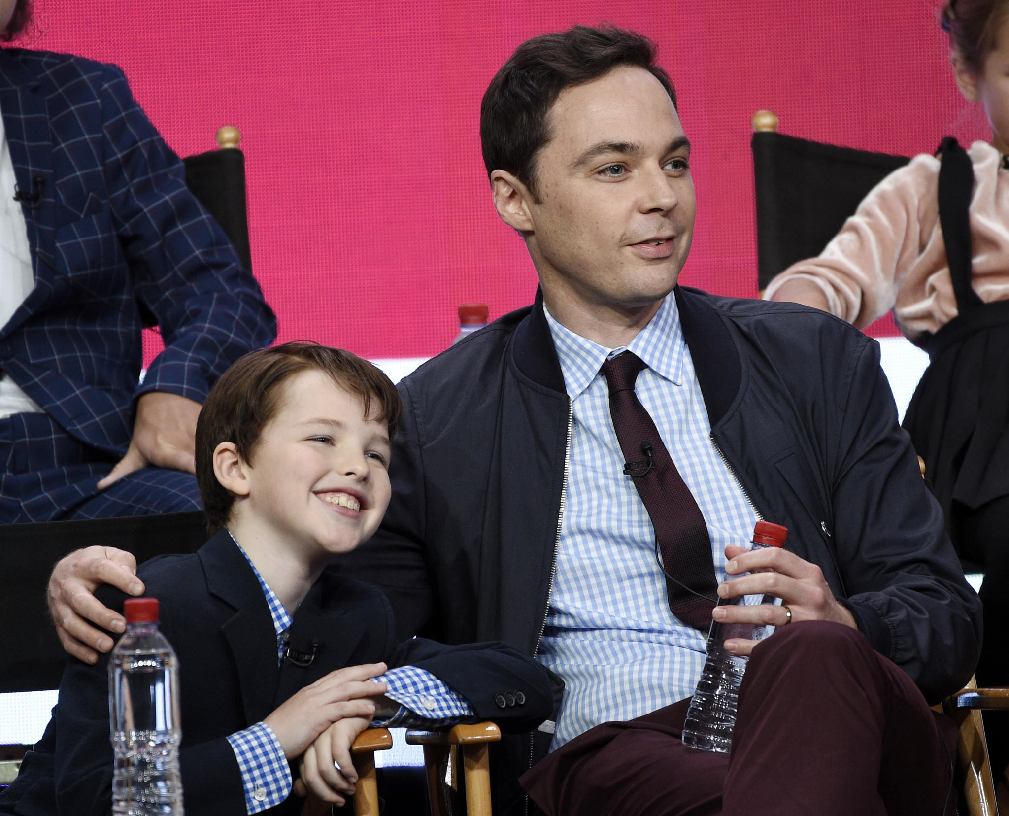 Two Sheldons: Iain Armitage and Jim Parsons (Chris Pizzello / Invision/Associated Press)