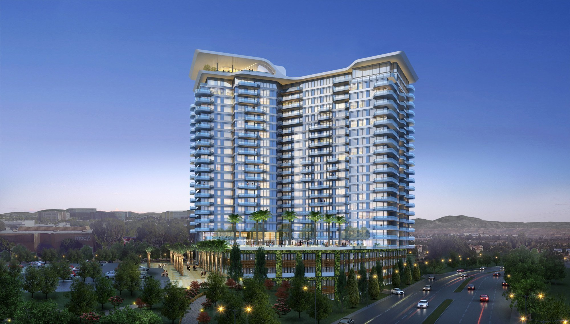 westfield utc mall starts construction on apartment building on site