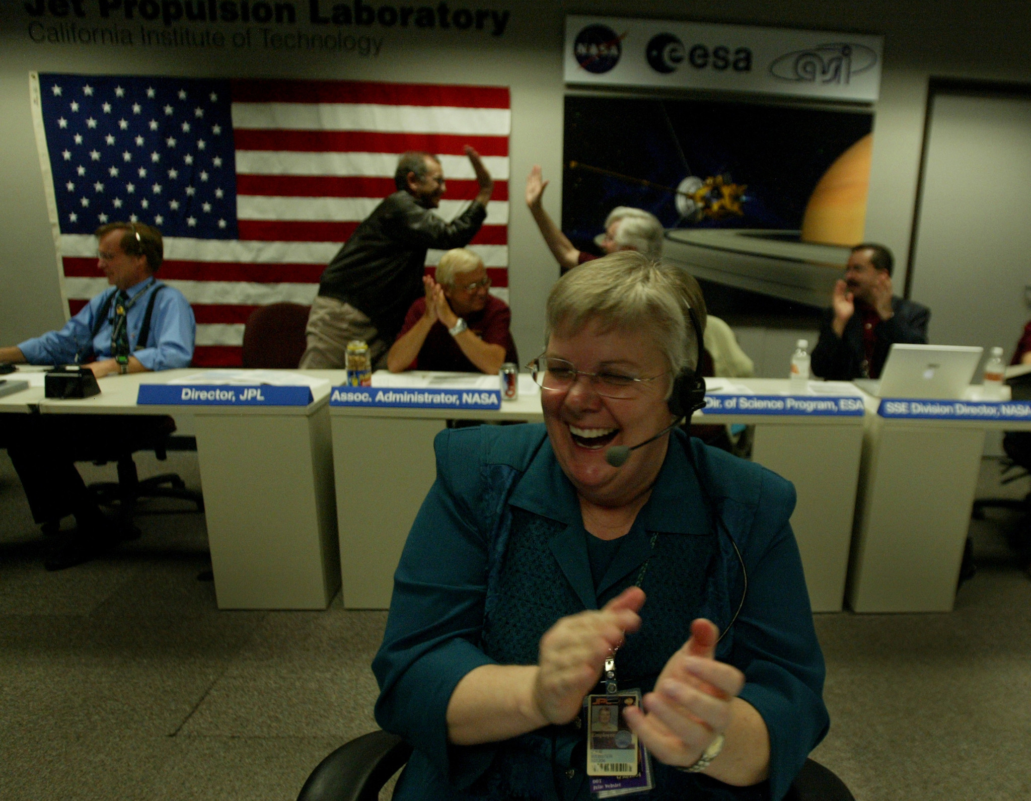 Ok Lets Do It An Oral History Of How Nasas Cassini Mission To Saturn Diagram The Spacecraft Flight Director Julie Webster Reacts Inside Control Area Jpl After Succesfully Entered Saturns Gravity