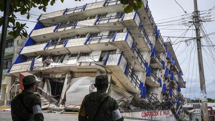 Magnitude 8.1 quake hits off the coast of Mexico