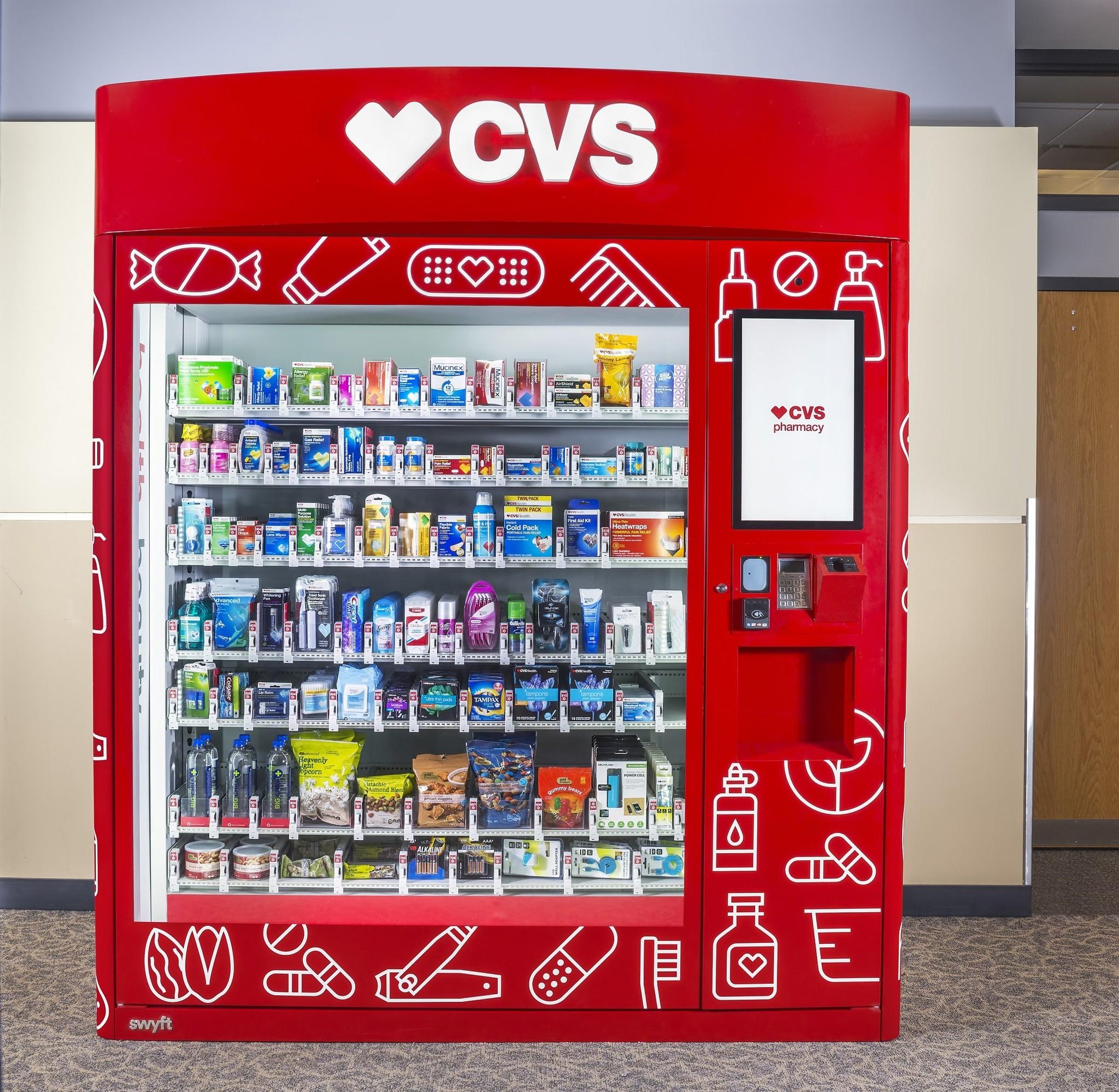 New Cvs Vending Machines Are Total Life Savers Baltimore Sun