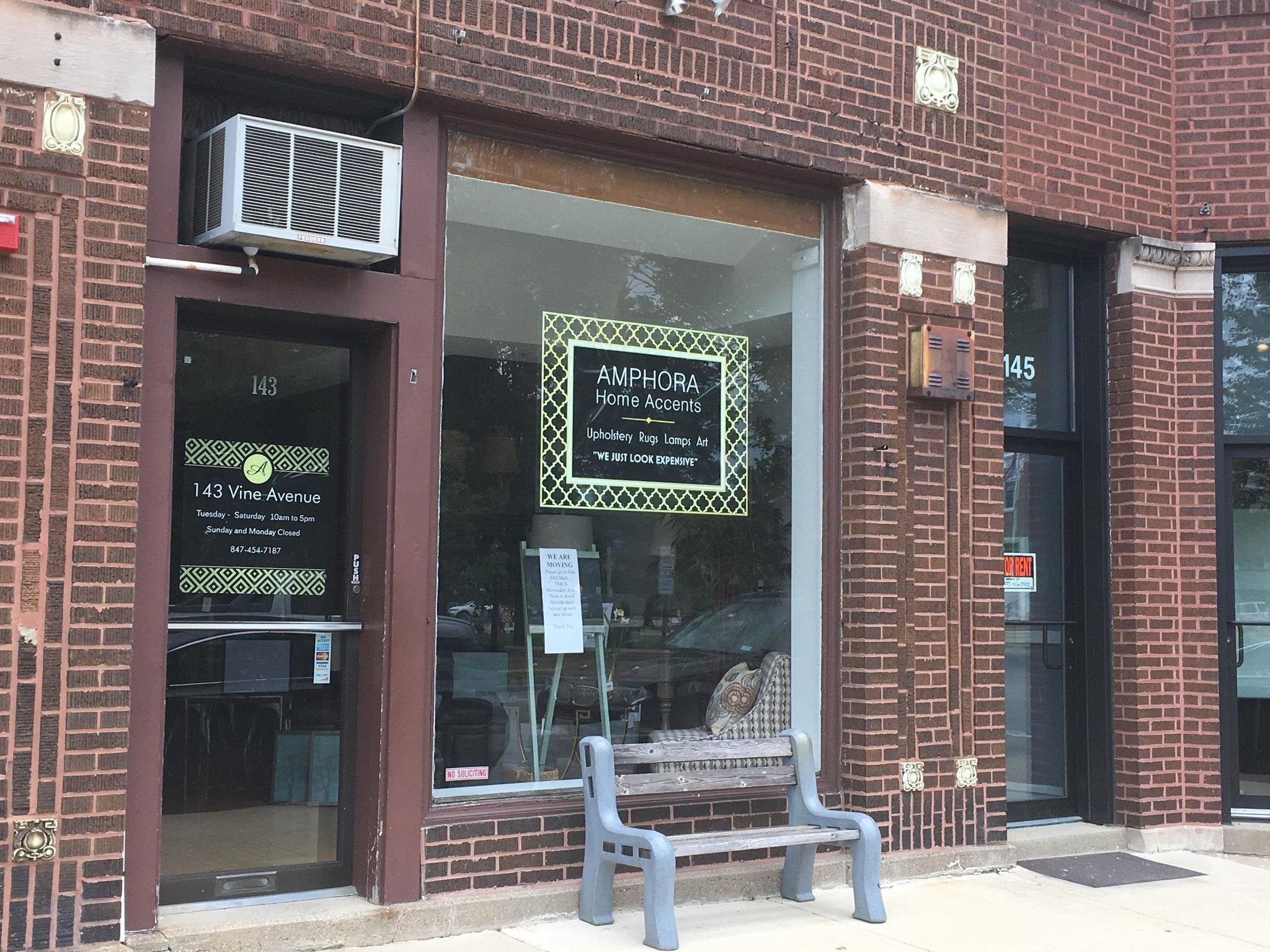 Image result for Amphora home decor store to leave Park Ridge, reopen in Niles