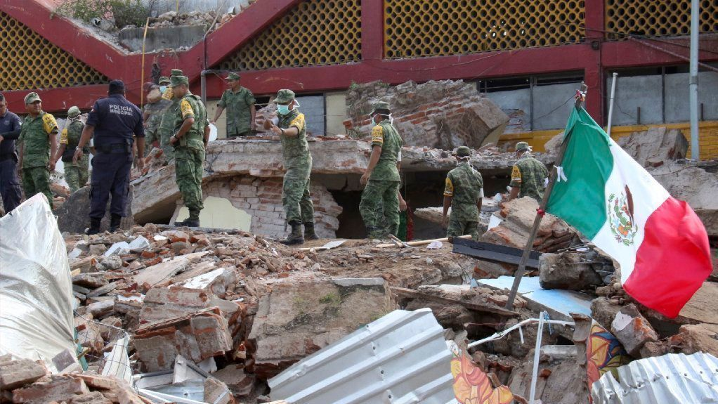 Mexico earthquake: See the devastation left by historic quake - The San Diego Union-Tribune