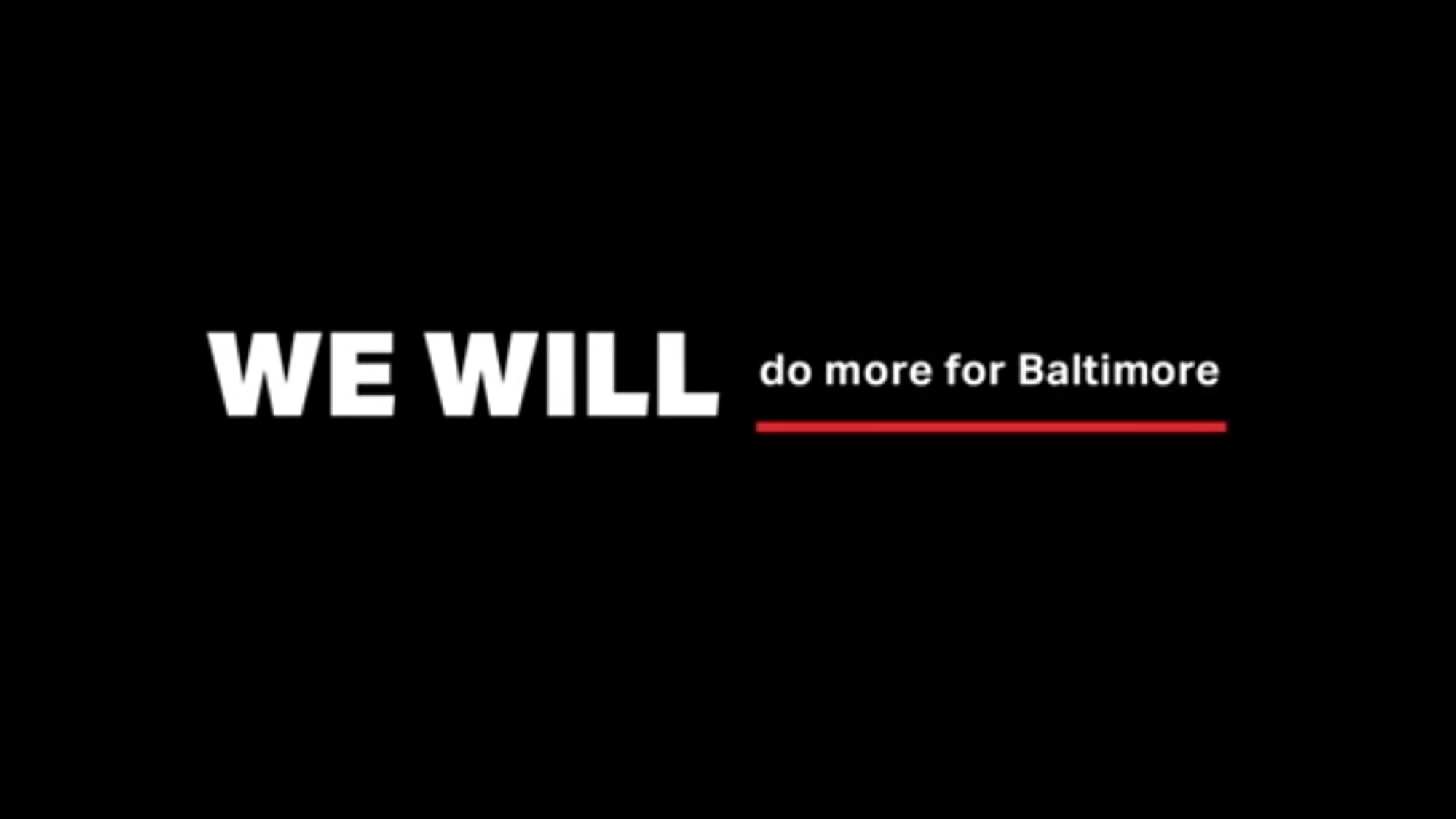 Under Armour launching new #WEWILL campaign aimed at aiding city - Baltimore Sun