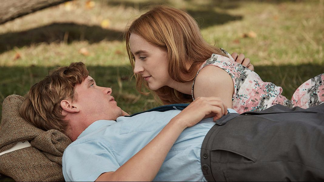 "Billy Howle and Saoirse Ronan in ""On Chesil Beach."""