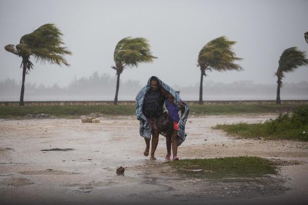 Hurricane Irma strikes in Caibarien, Cuba (Desmond Boylan/Associated Press)