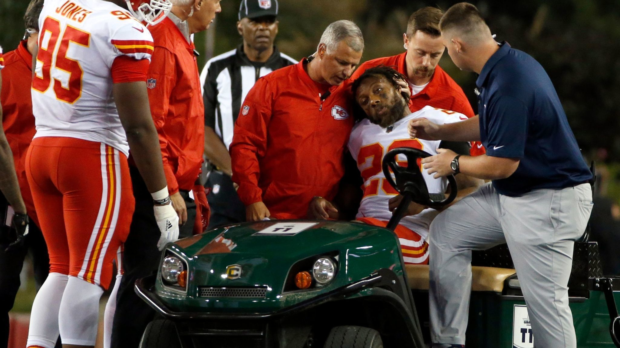 Eric Berry done for season prognosis good for full recovery by