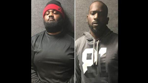 Ryan Cook and Max Saintvil were arrested on suspicion of burglary by Fort Lauderdale police. (Fort Lauderdale Police Department)