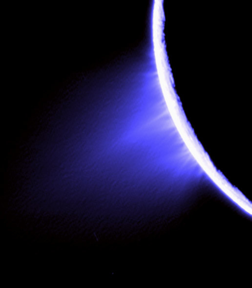 Images such as this helped scientists pinpoint the source of the jets on Enceladus.