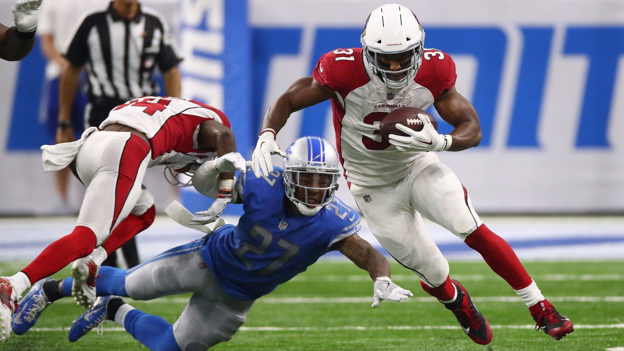 Could be up to Bruce Arians whether David Johnson plays sooner