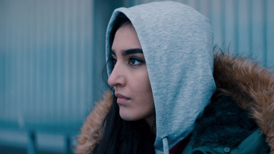 "Maria Mozhdah in the movie ""What Will People Say."""