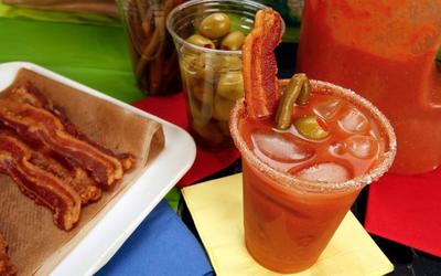 Bacon bloody Marys