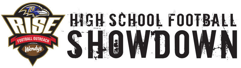 Ravens RISE High School Football Showdown logo