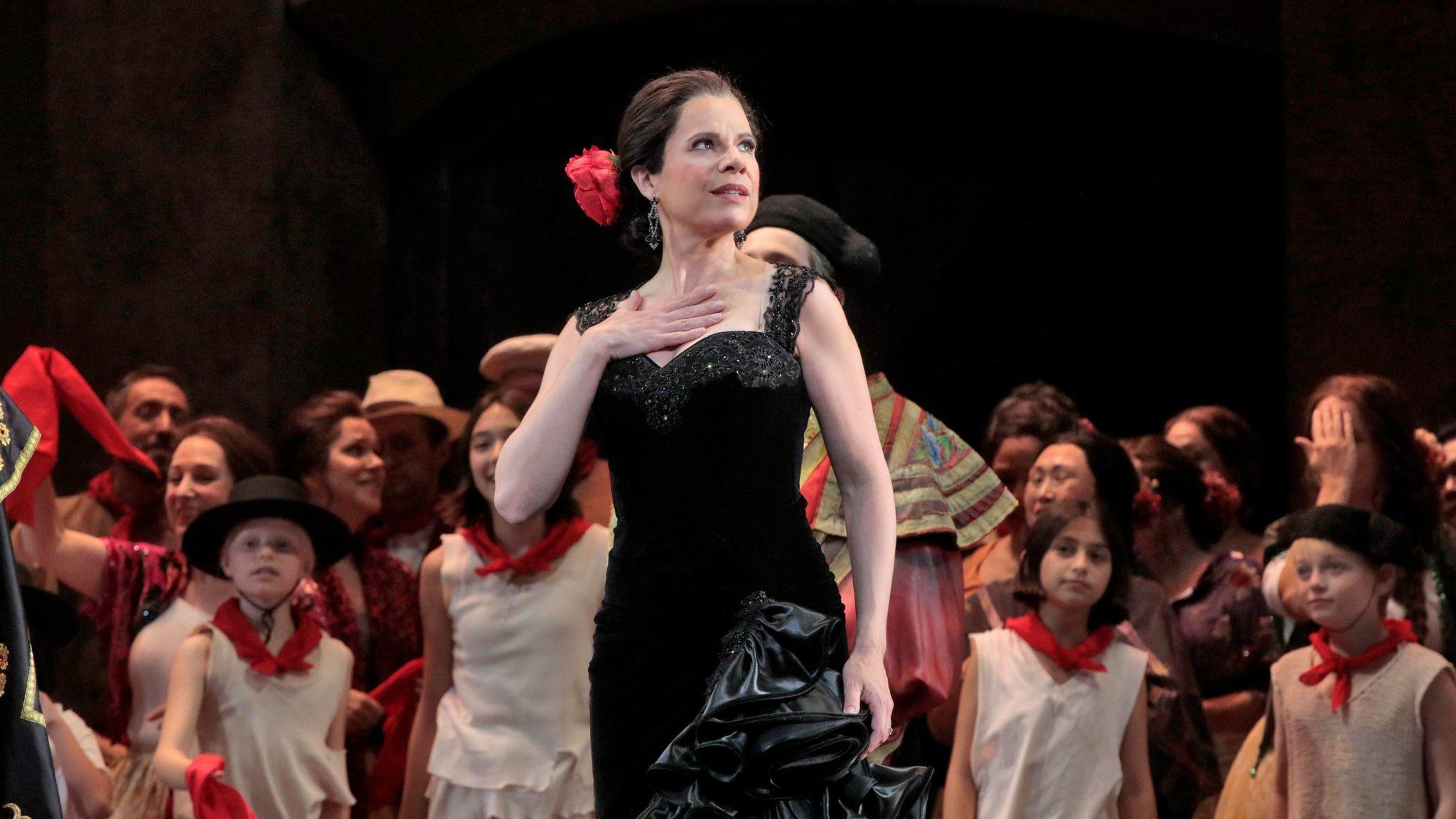 "Ana María Martínez in ""Carmen."""