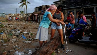 Cuba took a direct hit from Hurricane Irma — and may have spared Florida from worse damage