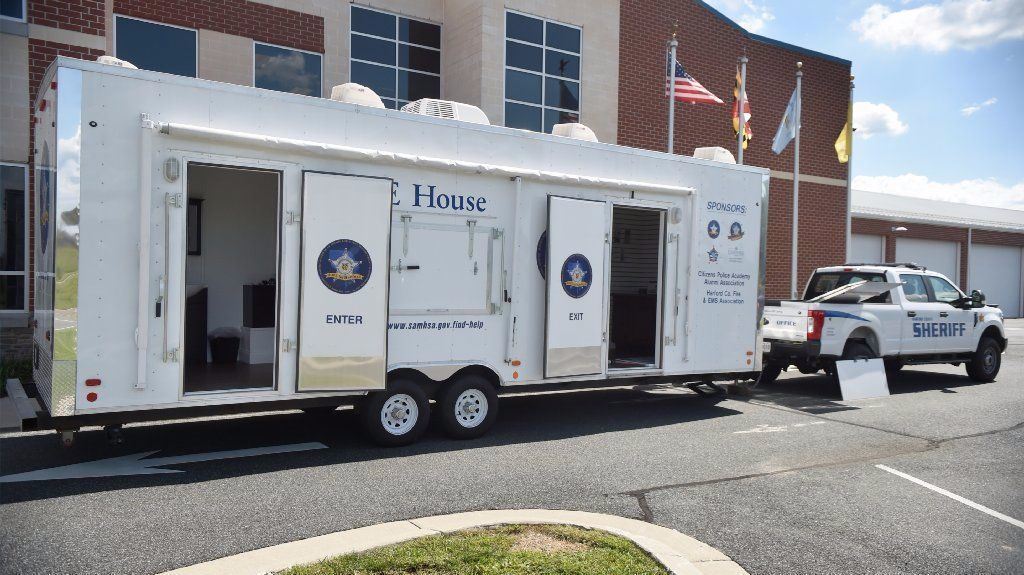 Harford sheriff unveils h o p e house drug prevention for E house
