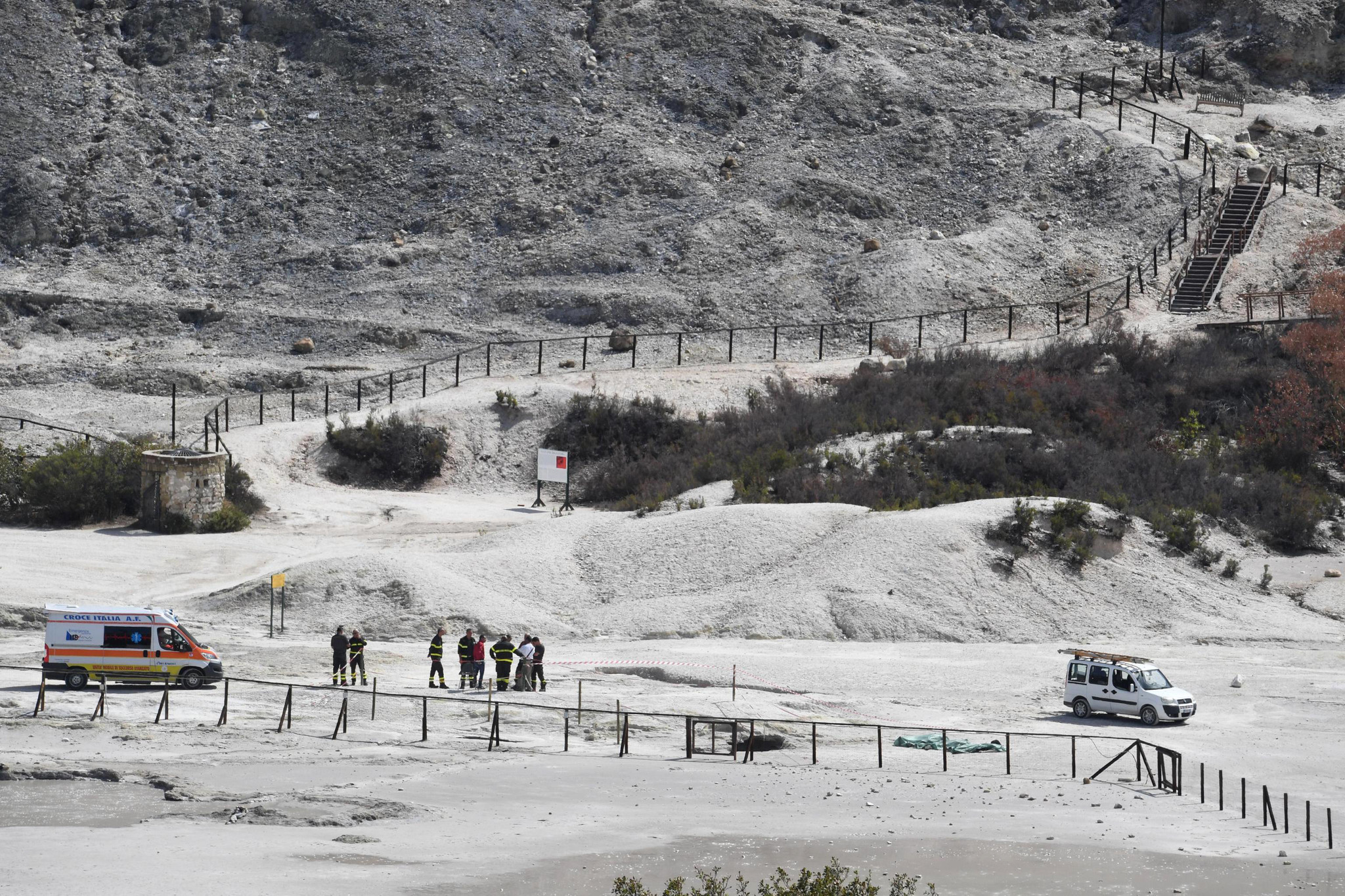11-year-old boy, parents killed after boy entered off-limits area of Italian volcanic field