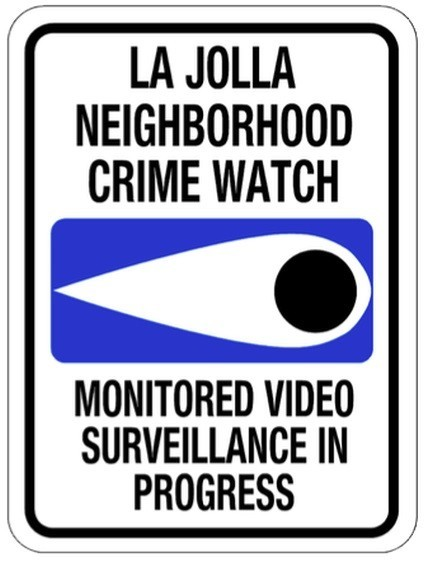 This new sign reportedly deters criminals by providing more details, suggesting the Neighborhood Watch is out in force.