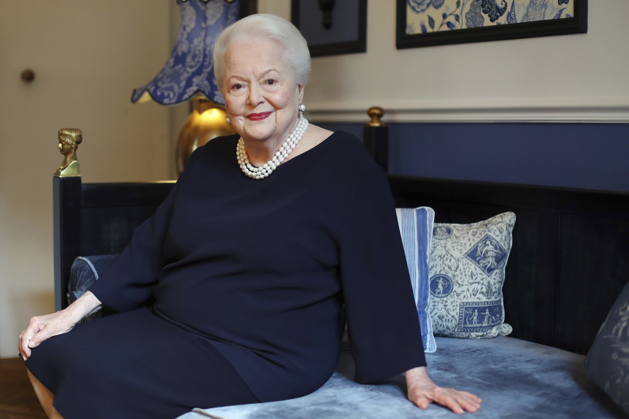 Olivia de Havilland in June 2016. (Thibault Camus / Associated Press)