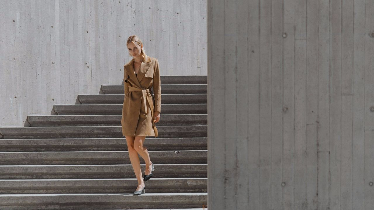 Los Angeles-based Sene Studio recently launched customized women's outerwear offerings. Customers can choose from various styles such as a belted trench and classic wide-lapelled blazer in their choice of color and sizing. Prices range from $795 to $895.