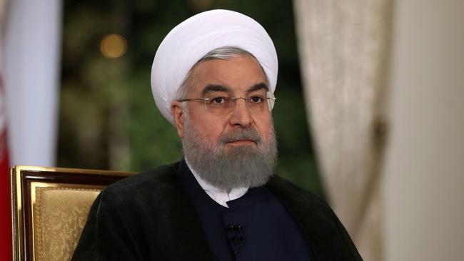 Iranian President Hassan Rouhani (Office of Iran presidency / Associated Press)
