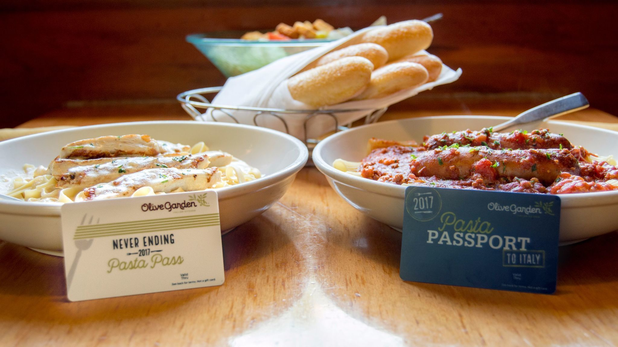 Olive Garden brings back pasta pass, on sale Thursday - Orlando Sentinel